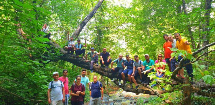 Öğretmenler, doğa yürüyüşü eğitiminde buluştu