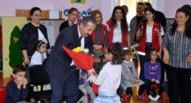 Osmaniye'de, Huzurevi Destekli Okul Öncesi Eğitim Projesi Başladı