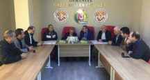 Yavuz Donat, OGC'yi Ziyaret Etti