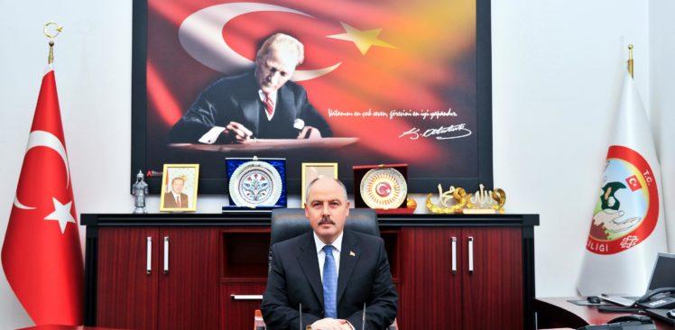 Vali Coşkun'dan 7 Ocak Kurtuluş Günü mesajı