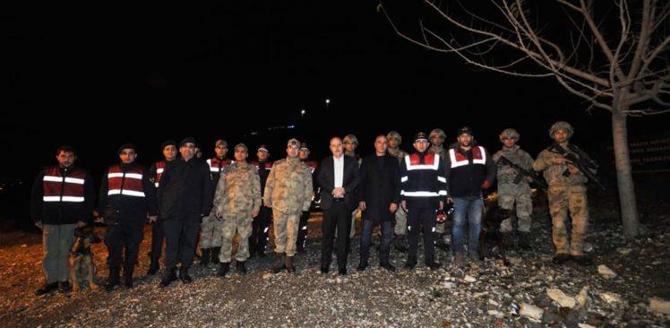 Vali Coşkun'dan, Görev Başındaki Güvenlik Güçlerine Yılbaşı Ziyareti