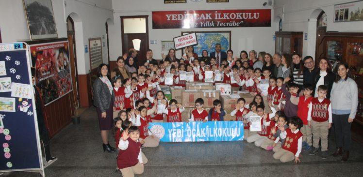7 Ocak İlkokulu Öğrencilerinden Çocuklar Üşümesin