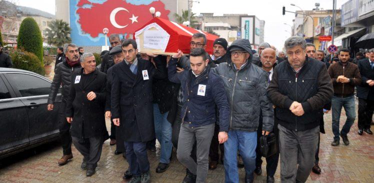 Eski milletvekili Türkoğlu memleketi Osmaniye'de toprağa verildi
