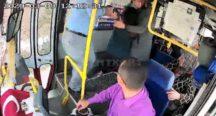 Otobüs Şoförü, Fenalaşan Yolcusunu Hastaneye Yetiştirdi