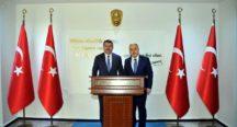 Azerbaycan Büyükelçisi Hazar İbrahim'den Vali Coşkun'a ZİYARET