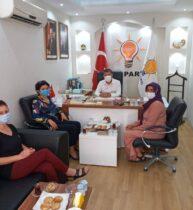 Kadın Kooperatifi Yönetimi, Çelik'e Sorunlarını Anlattı