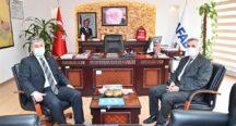 Vali Dr. Erdinç Yılmaz  İl Afet ve Acil Durum Müdürlüğü'nü Ziyaret  Etti