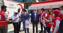 Osmaniye'de Türk Kızılay'ın Kuruluş Yıldönümü Kutlandı