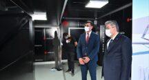 Vali Yılmaz'dan, Cumhurbaşkanlığı İletişim Başkanlığı'nın Dijital Tırına Ziyaret