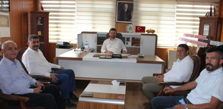 Osmaniye İl Müftüsü Ali Çakmak'a Ziyaretler