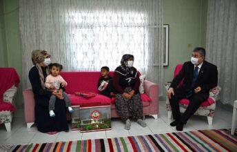 Vali Yılmaz'ın Ev Ziyaretleri Devam Ediyor
