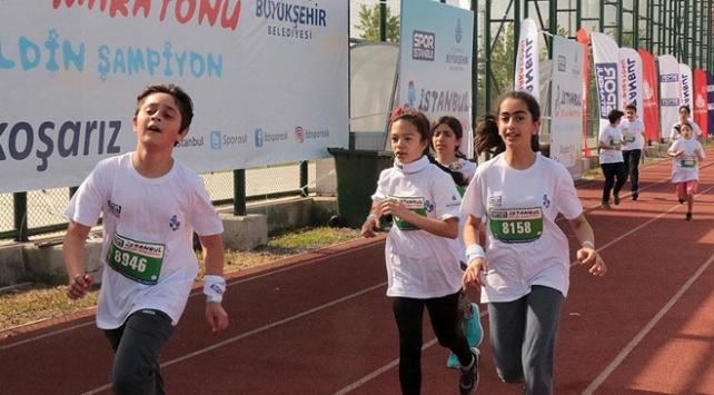 3. İstanbul Çocuk Maratonu koşuldu