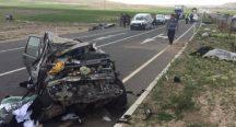 Kayseri'de feci trafik kazası